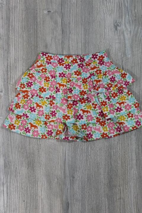 CR Kids Floral and Horse Skirt