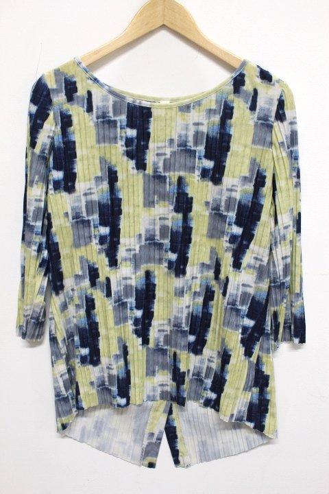 Cubism Button Back Shirt 336