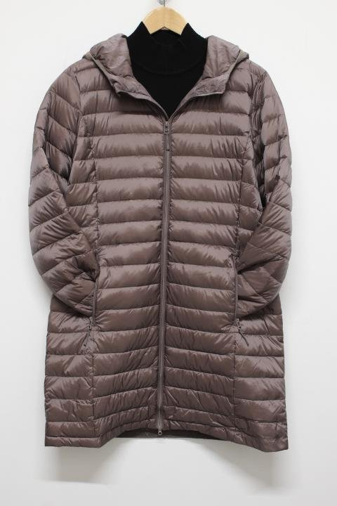 Tribal Mocha Packable Hood Puffer Jacket
