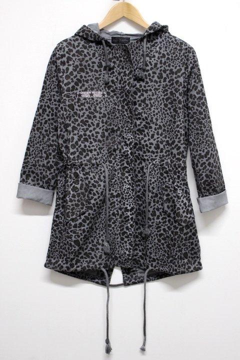 Flora Ashley Leopard Jacket
