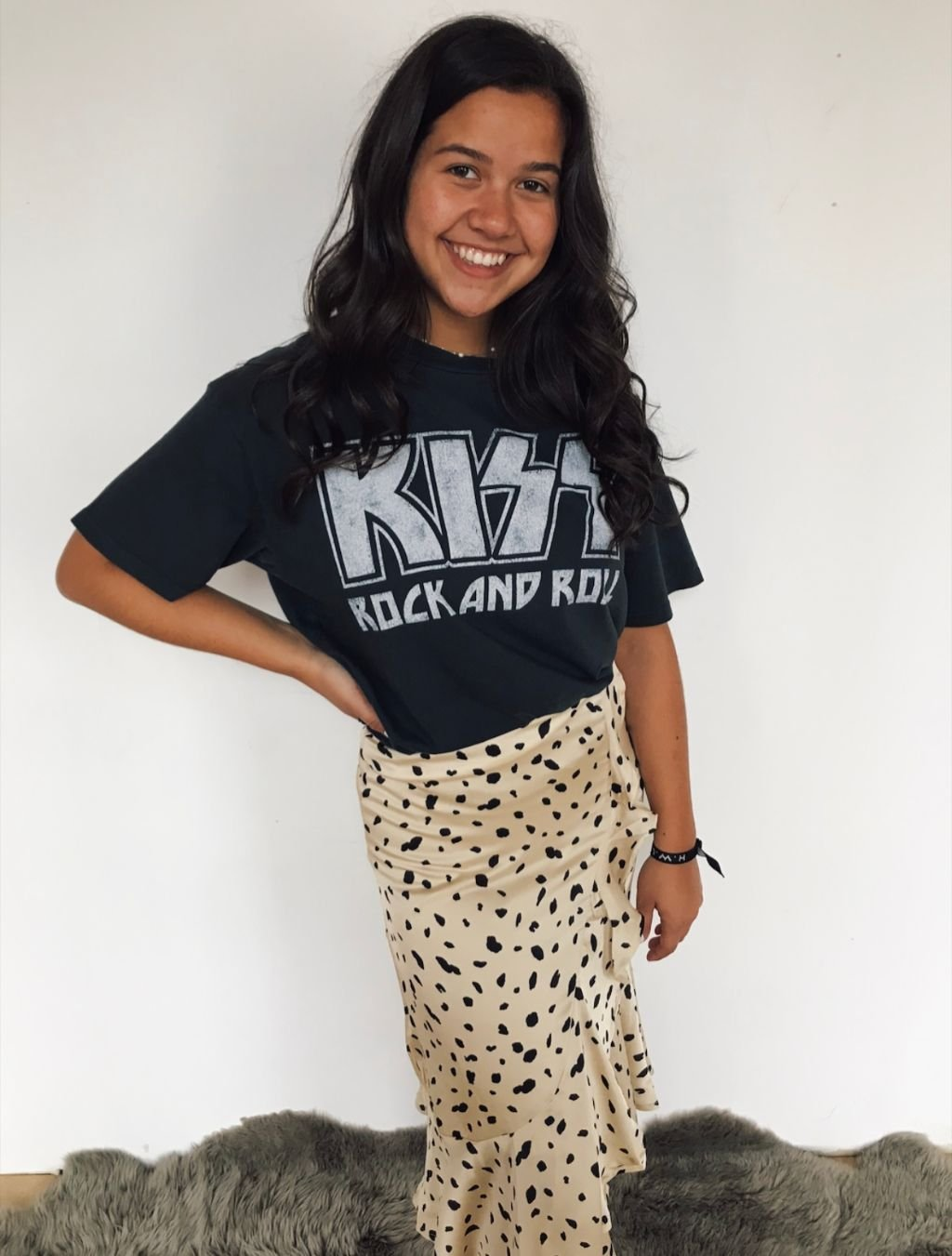 Daydreamer Kiss Rock and Roll Tee