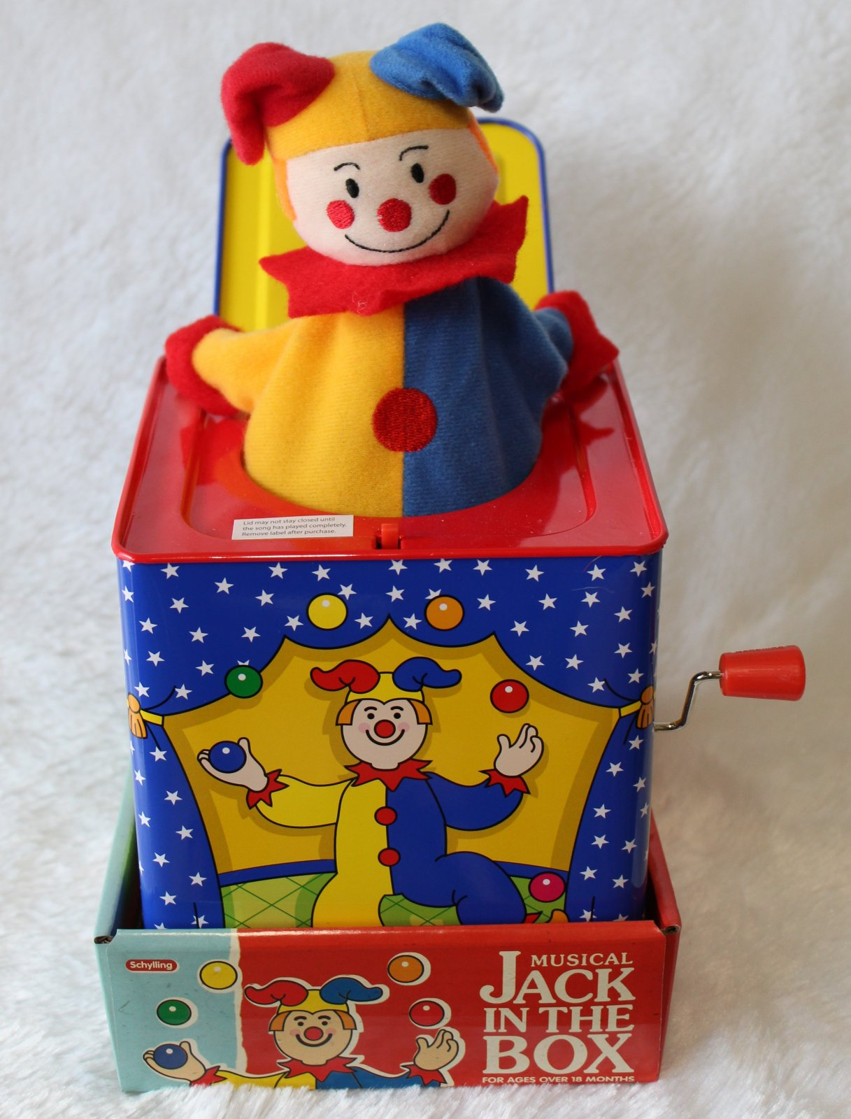 Musical Jack in the Box Toy
