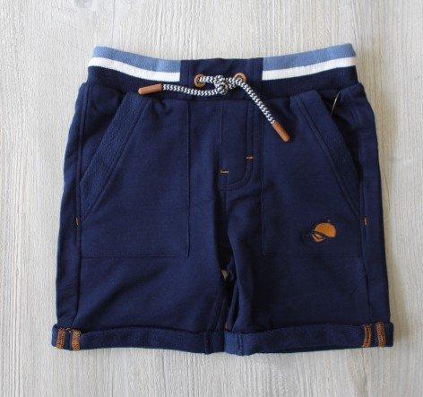 Noruk Navy Knit Short