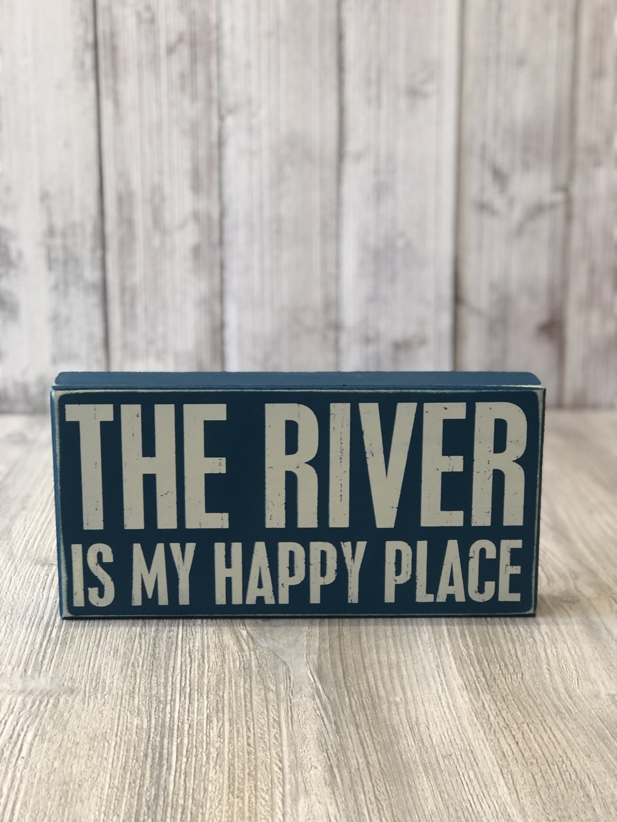 The River Box Sign