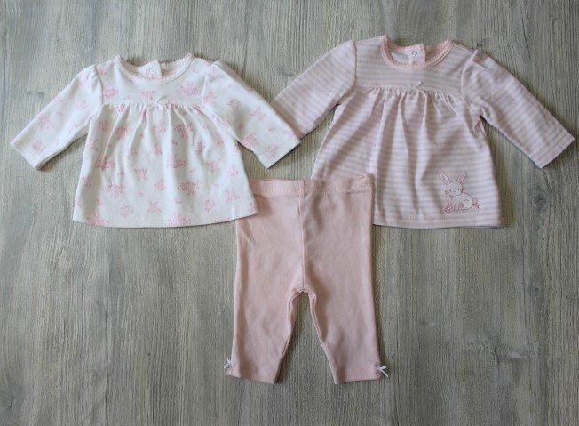 Little Me Light Pink Bunny Set