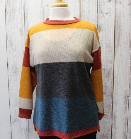 Papillon Stripe sweater