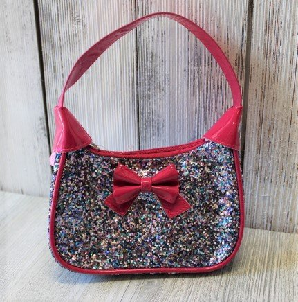 Great Pretenders Pink Sequined Purse