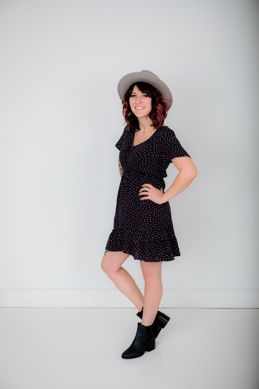 Billabong Day Trippin Polka Dot Dress
