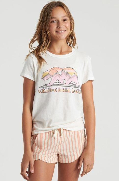 Billabong Pink & Cream Short
