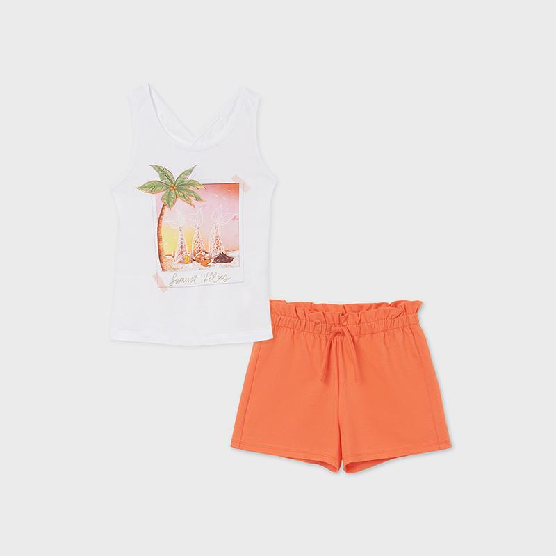 Mayoral Palm Tree Short Set