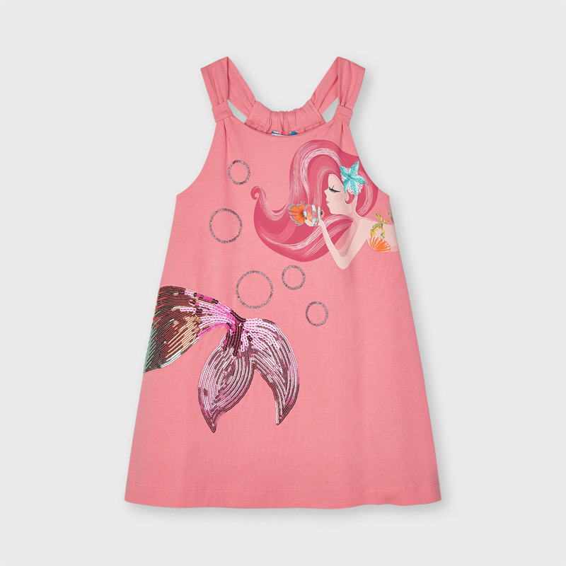 Mayoral Peach Mermaid Dress