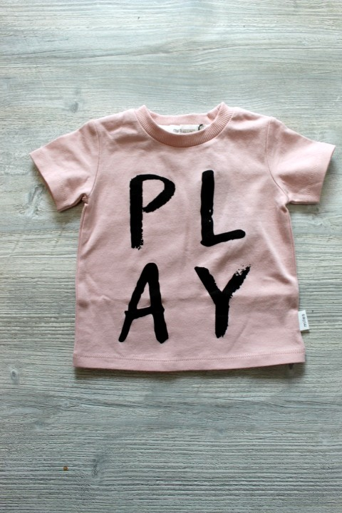 Miles Baby Pink Play Tee