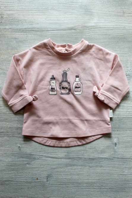 Miles Baby Pink Syrup Top
