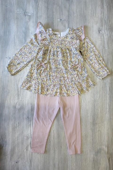 Isobella & Chloe Muted Floral Set