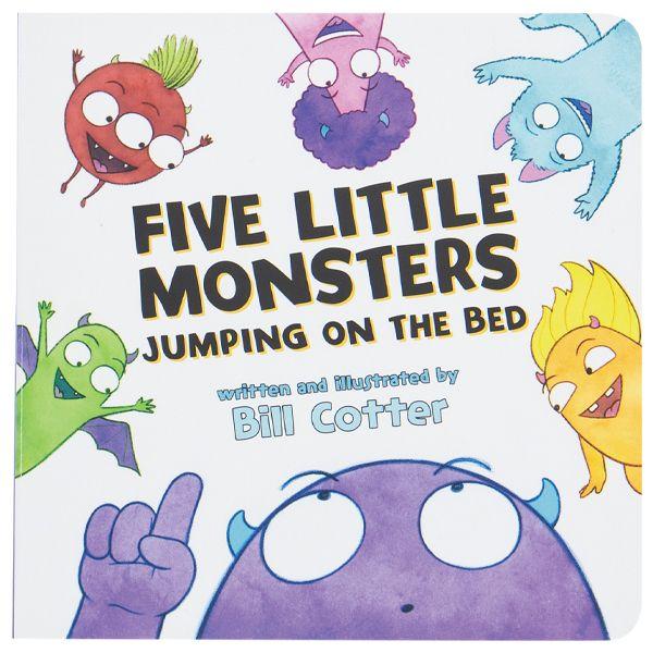 Kellis Gifts Five Monsters Jumping Book