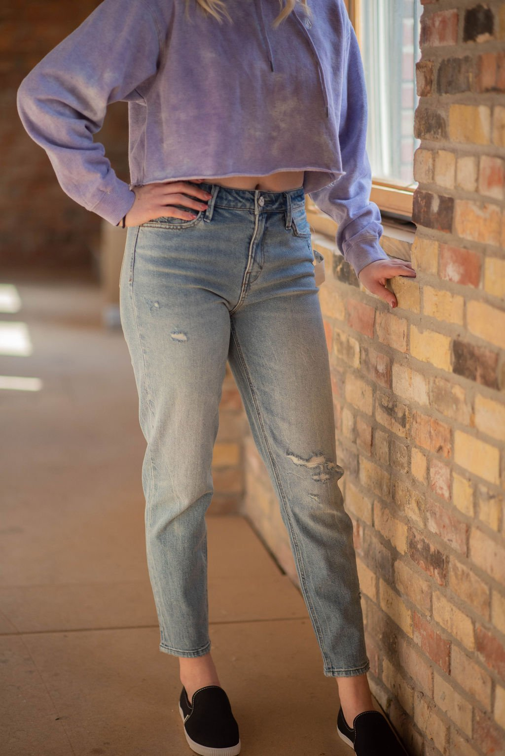 Unpublished Debbie (distressed) skinny jean