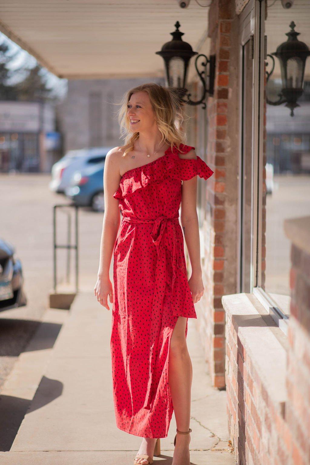 Sincerely Jules Billabong printed maxi dress
