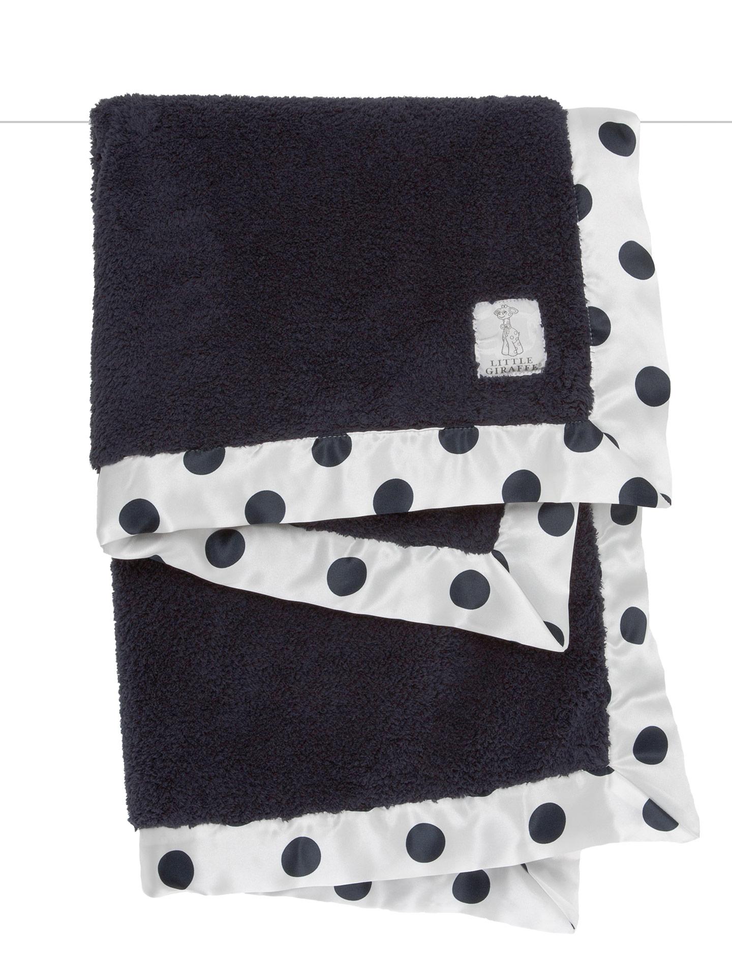 Little Giraffe Chenille New Dot Blanket