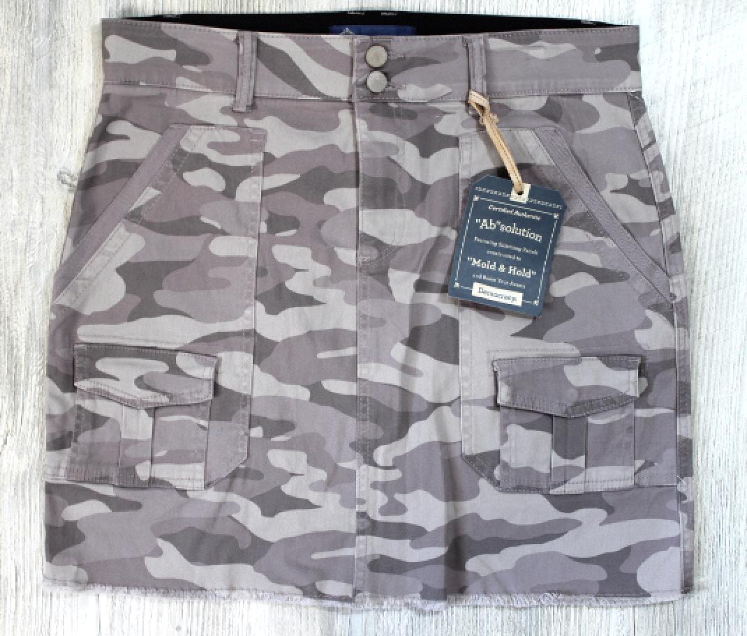 Democracy Camo Skirt