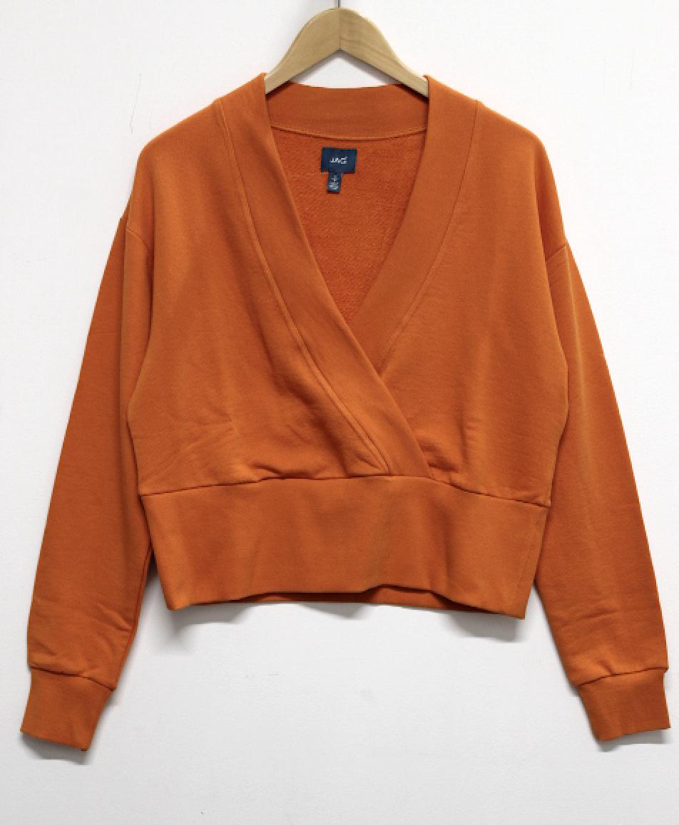 Jag Amber Cross Front Sweatshirt