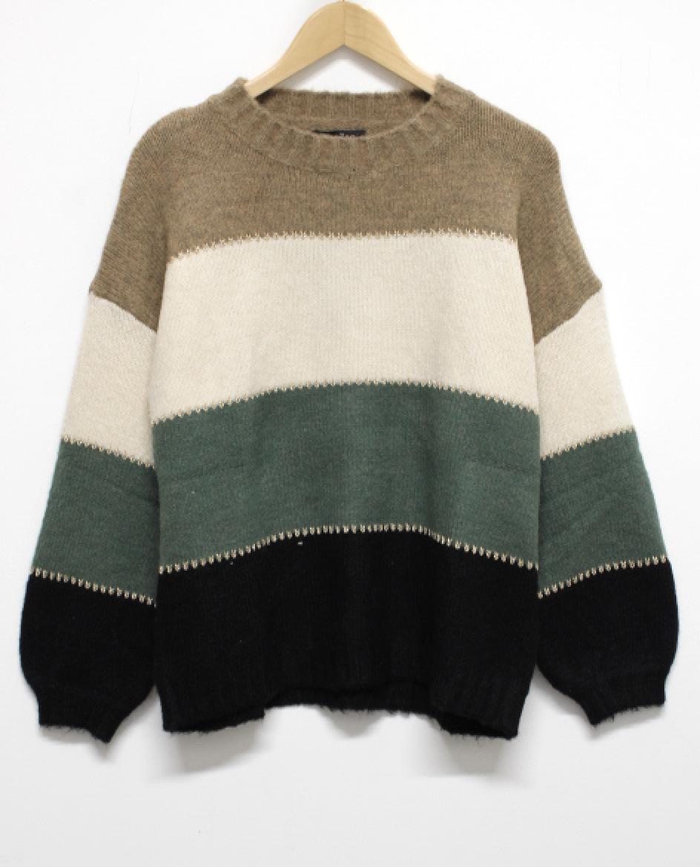 Papillon Multi Stripe Sweater