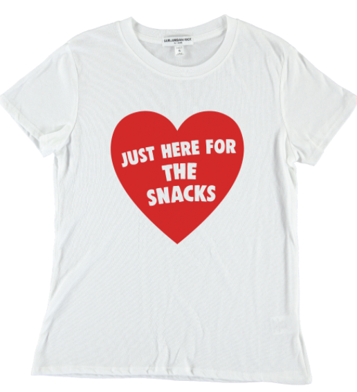 Suburban Riot Here for Snacks Tee