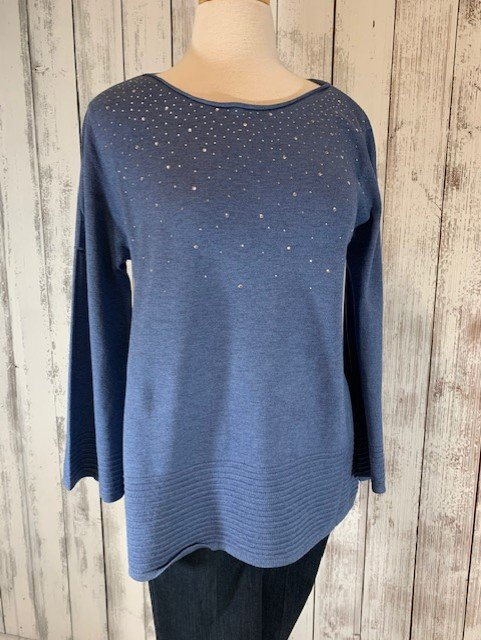 Milano Sweater With Embellishments