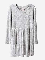 For All Seasons Heather Grey Dress
