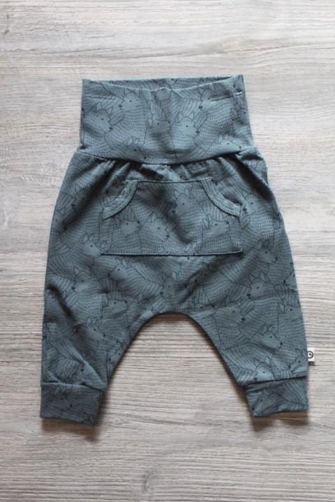 Musli Teal Wolf Pants
