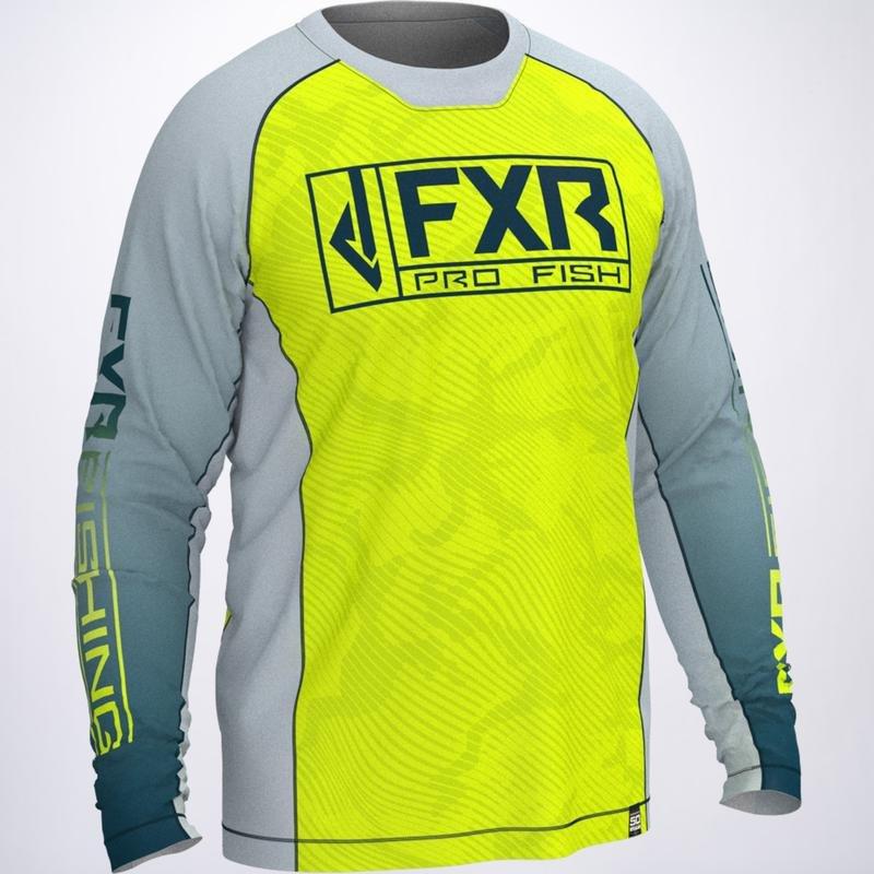 FXR MEN'S DERBY UPF LONGSLEEVE