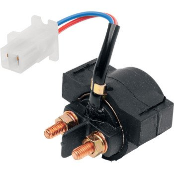 Rick's Motorsports Electric 2110-0080 65-401 Solenoid Switch for Yamaha