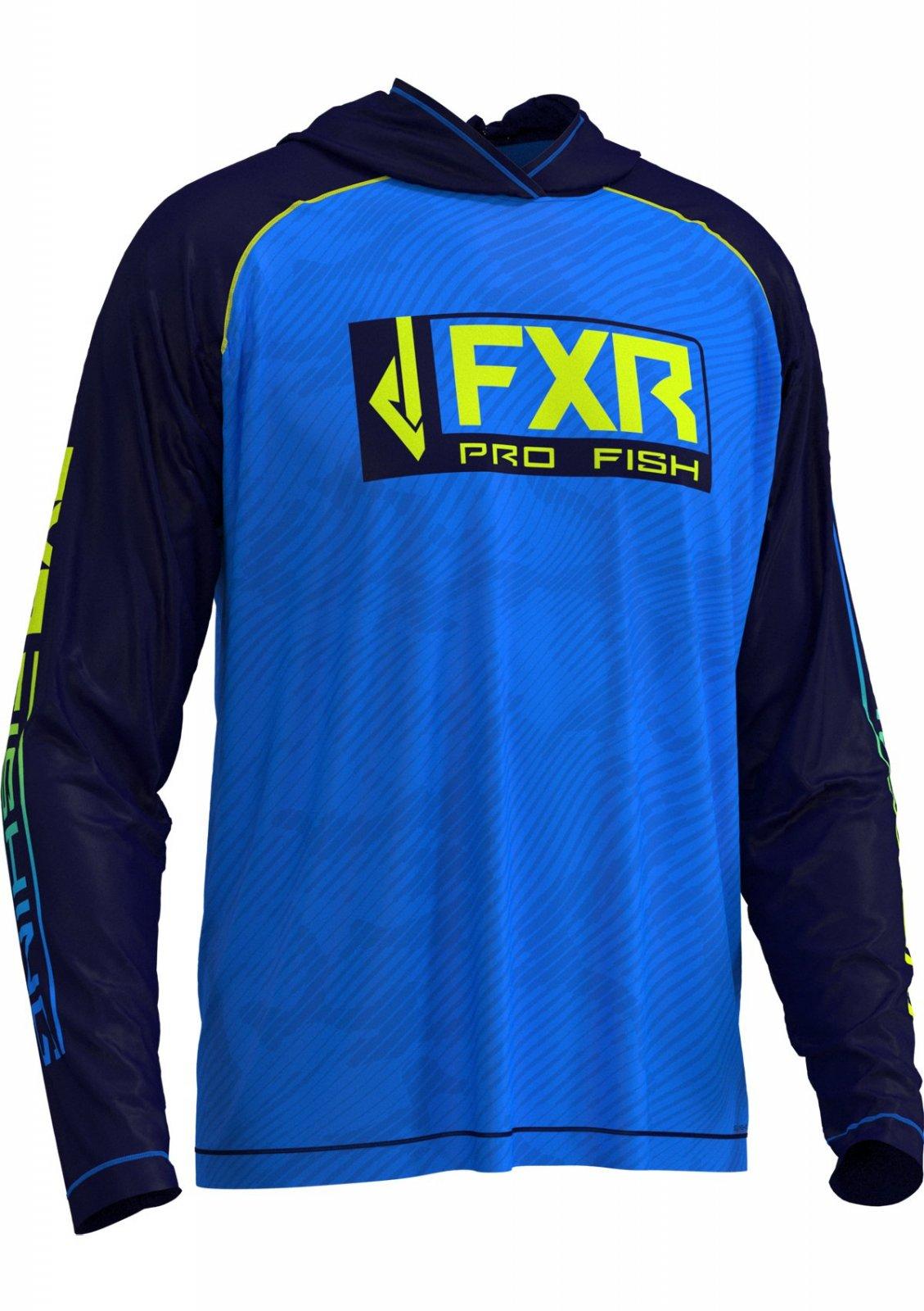 FXR Pro Fish Strike Air UPF Hoodie