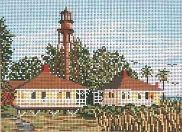 Sanibel Lighthouse Needle Crossings