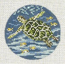 Sea Turtle Ornament Needle Crossings