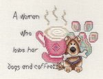 A Woman Who Loves Her Dogs and Coffee Mar Nic
