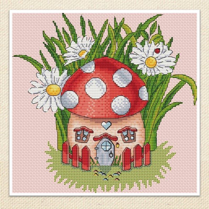Mushroom House Artmishka