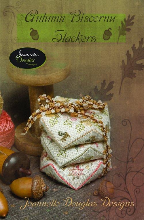 Autumn Biscornu Stackers Jeannette Douglas