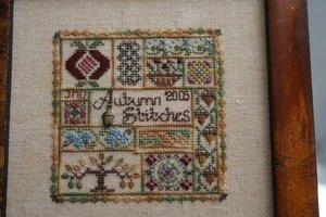 Autumn Stitches Jeannette Douglas - kit