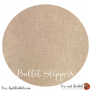 40 Ballet Slippers Fox and Rabbit