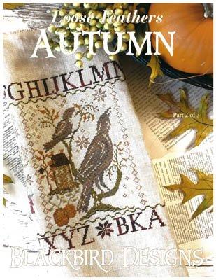 Loose Feathers Autumn Blackbird
