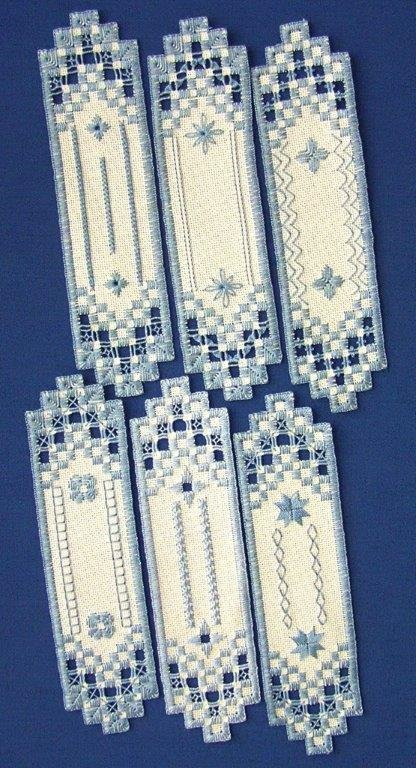 Chapter 17 Bookmarks Satin Stitches
