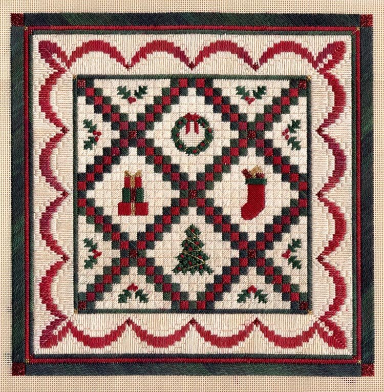 Christmas Quilt Laura J Perin