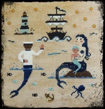 Mermaid Family Fairy Wool