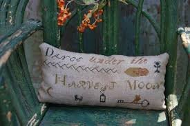 Harvest Moon Sawdust Pillow Stacy Nash