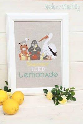 Summer Iced Lemonade Madame Chantilly