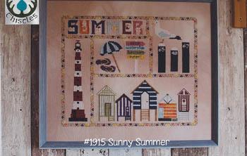 Sunny Summer Thistles