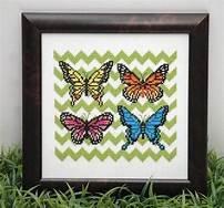 Beautiful Butterflies Tiny Modernist