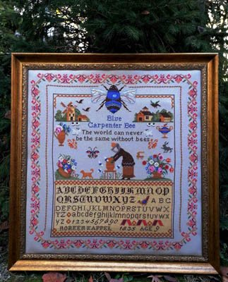 Blue Carpenter Bees Twin Peaks Primitives