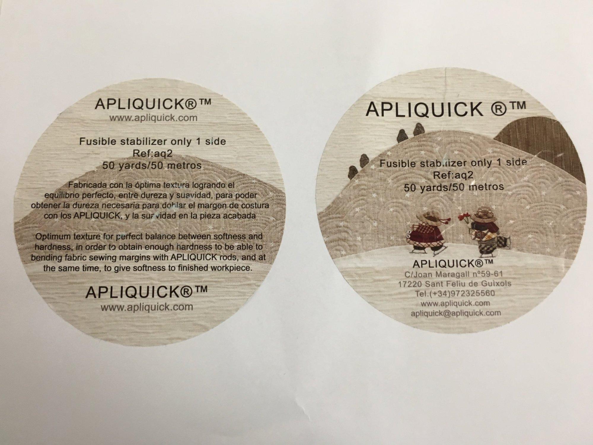 Apliquick fusible stabilizer - 20 wide