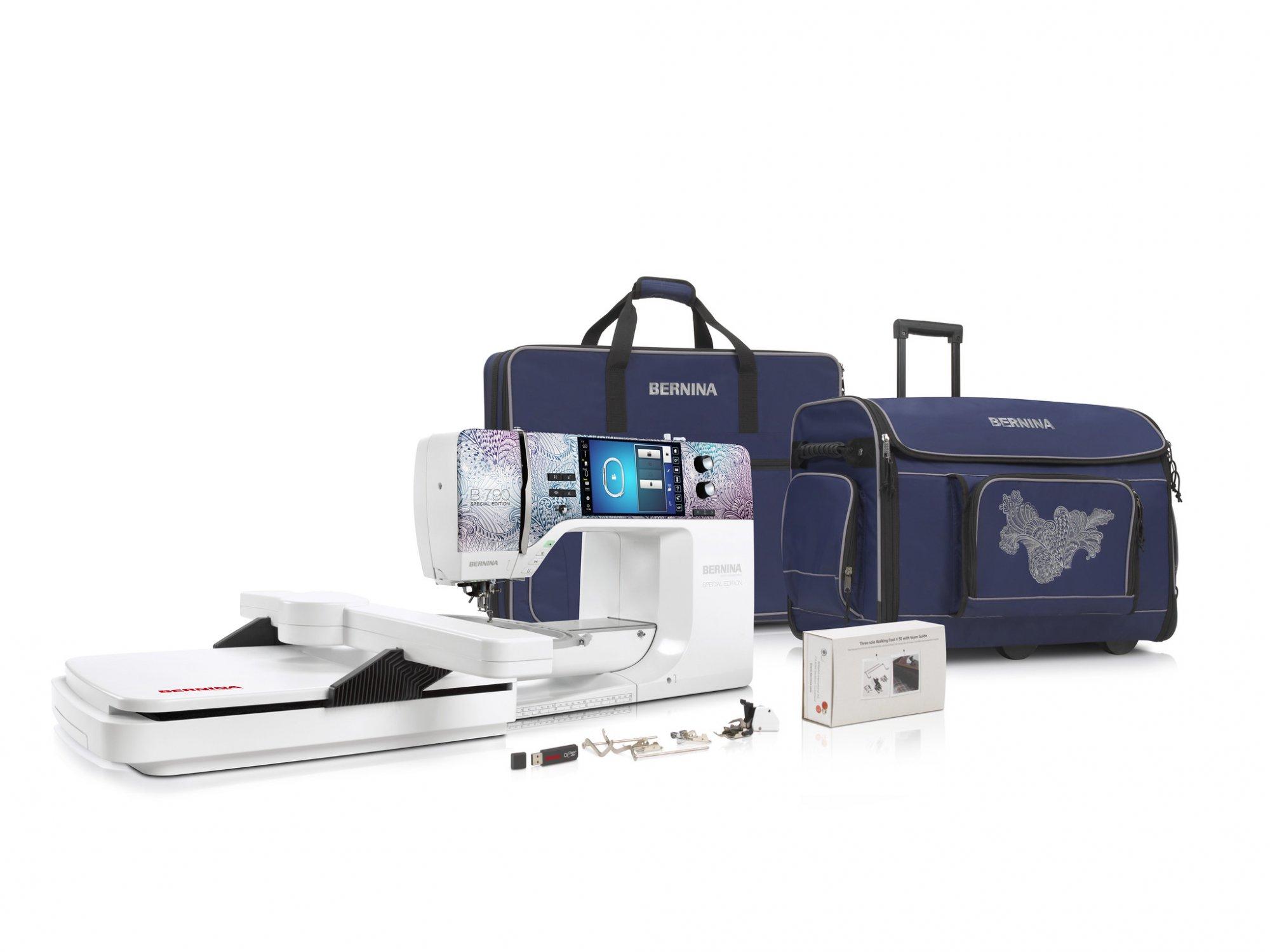 Bernina B-790 PLUS SE sewing and embroidery machine
